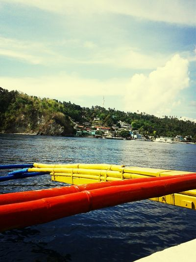 Approaching Sabang Beach Summer Enjoying The Sun Puertogalera Starting A Trip