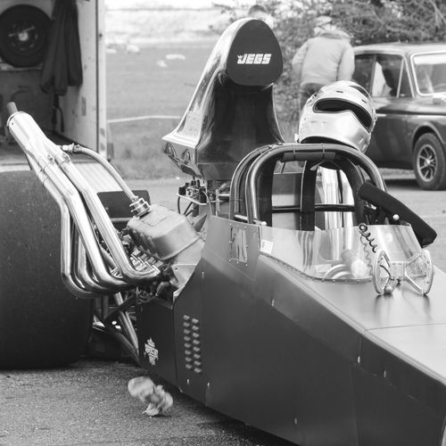 Black And White Photography Black And White Monochrome Bnw_captures Motorsport Drag Racing Slingshot Racetrack Happy Days At The Track Helmet Dragster Car_photography Car Porn Shakespearecountyraceway Slingshot Dragster