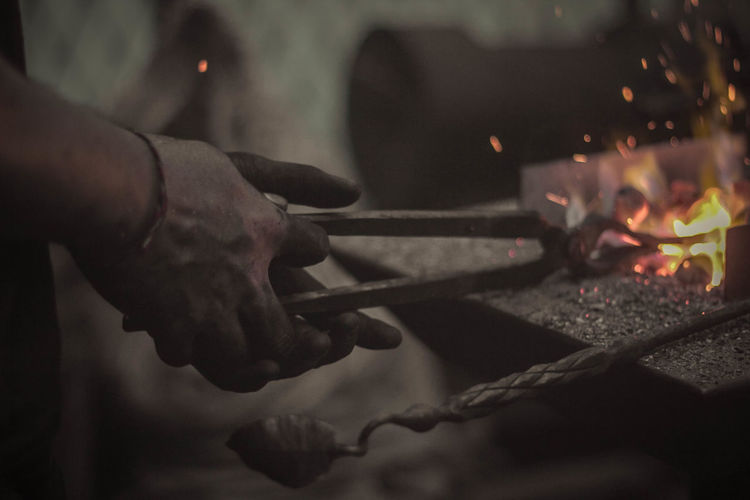 The forging process