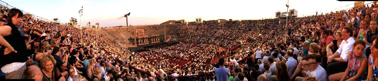 EyeEm Selects EyeEmNewHere The Week On EyeEm Verona Verona Italy Arena Large Group Of People Panoramic Real People Outdoors People Architecture Colorful Day Togetherness Verona In Love Aida Art Art Is Everywhere Italy