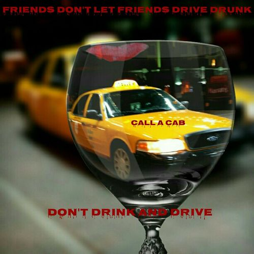 Wine Glass Social Concern Cab Yellow Cab Taxi Yellow Red Drinking And Driving Safety Website