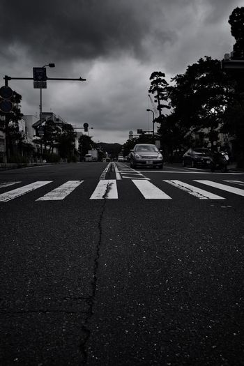 The Way Forward Crossing Pedestrian Cloud - Sky Sky Road Sign City Street Transportation Road Marking
