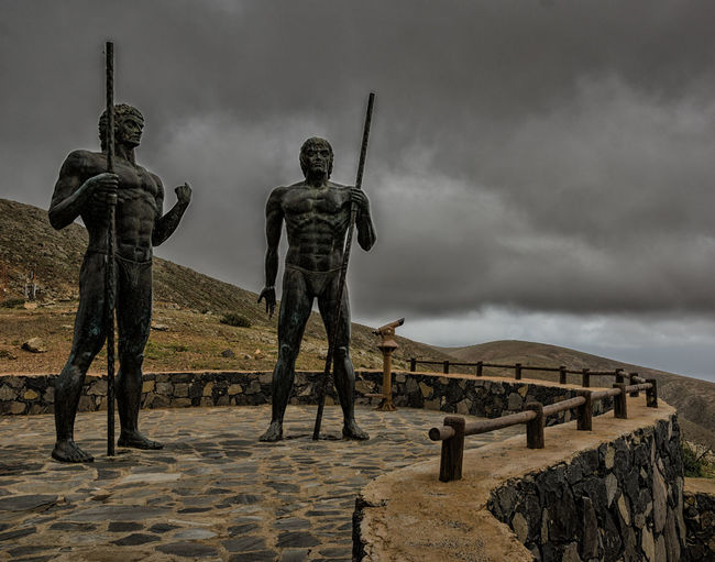 Ancient Art Cloud Cloud - Sky Cloudy History Fuerteventura Sky The Past Tranquility Travel Destinations Ayose And Guize Hernandez