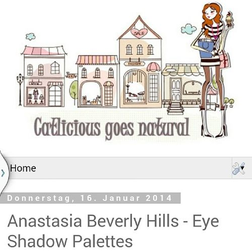Published a new blog post on ☆www.catliciousgoesnatural.de☆ about two of the beautiful eye shadow palettes from Anastasia Beverly Hills ? Anastasiabeverlyhills Catwalkpalette Shewearsitwellpalette Eyeshadowpalette blogpost blogger bblogger beautyblogger