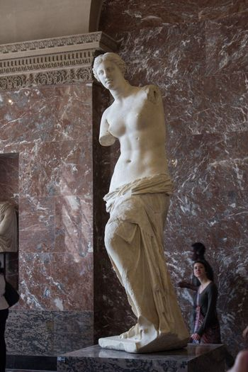 Venus de Milo Venus De Milo Louvre Paris Female Likeness Human Representation Representation Architecture Art And Craft Sculpture Statue