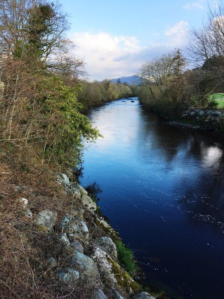 River Nature Water Sky Scenics Blue Beauty In Nature Tranquility Outdoors Tranquil Scene Day Wilderness Area Landscape No People Killarney  Killarney National Park Ireland Travel Travel Destinations Travel Photography Travelling