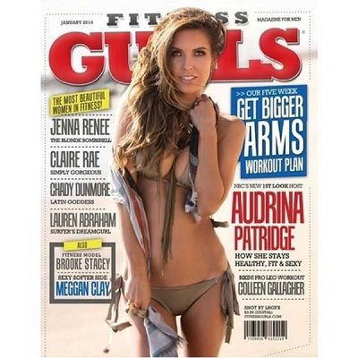 Excited to start off the New Year being featured on the cover of @fitnessgurls with @audrinapatridge! Makeup by @paradigmbeauty @lhgfxphoto Lhgfxphoto Lhgfxphotography Lhgfx Fitnessgurls audrinapatridge
