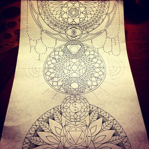YohkoAmaterraArt My Art My Art Work Art 曼荼羅 マンダラ Mandalas Mandala Chakra  Drawing