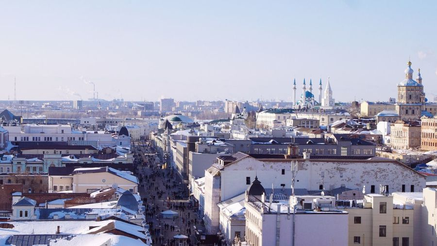зима Winter Photography Winter_collection Wintertime Church Religion Ortodox Church Domes Religious Architecture Mosque Mosque Architecture Church Architecture Church Tower Minaret Minaret Mosque Kazan View From Above View From The Top Cityscape Cityscape Photography cityscapes Cityscape City Urban Skyline Winter Aerial View Sky Architecture Building Exterior Snow Covered The Street Photographer - 2018 EyeEm Awards