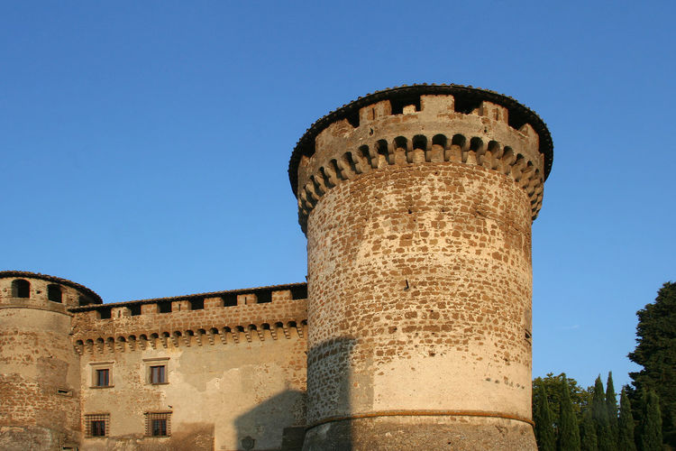 Castle of Vasanello Castle Ancient Ancient Civilization Architecture Arxhitecture Building Exterior Built Structure Castle Tower Castle View  Clear Sky History Italy Lazio Low Angle View Medieval Medieval Architecture Medieval Castle Outdoors Sky Tower Travel Destinations Tree Via Amerina