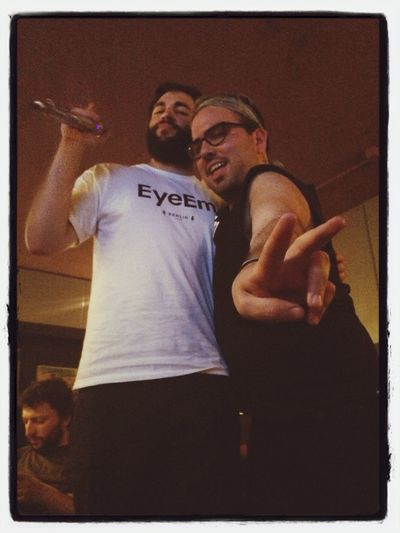 I mean...look at this... maximum fun night :)) EyeEm Dodgeball 2014 Office Life With My BFF Paul