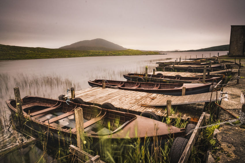 The atmosphere of the misterious cloudy Ireland, an incredible road trip at the discovery of its green lands Ireland Fujifilm FUJIFILM X-T1 Longexposurephotography Longexposure Longexposureoftheday Travel Destinations Travel Photography Traveling Travel Water Lake Mountain Tree Sky Landscape Moored Longtail Boat Lakeshore Fishing Boat Nautical Vessel Calm Water Vehicle Shore Pier My Best Travel Photo