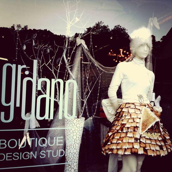 Gingerbread skirt!