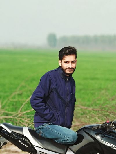 indian people/person and portrait of young man on field