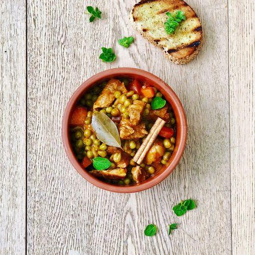 Pork stew Wood