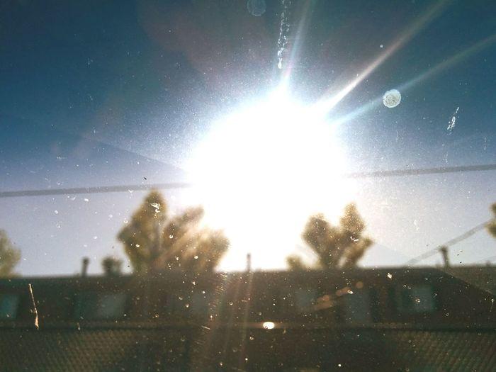 Driveing Sun Sky Sun Rays Dirty Window Beautiful Day Nexus5
