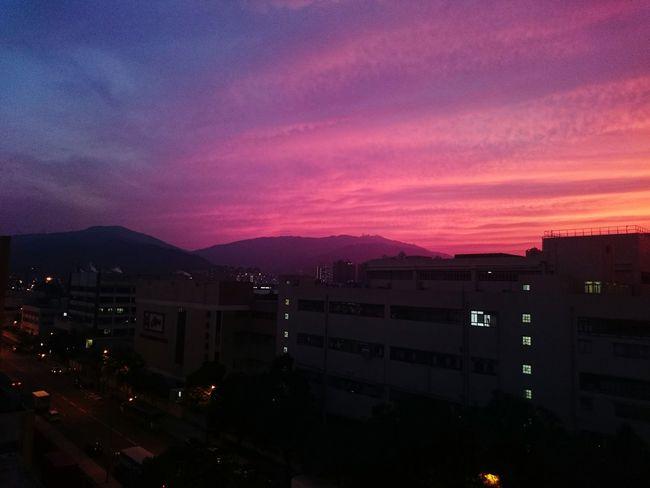 Sunset RedSky Redandblue Tadaa Community Hello World Clouds And Sky