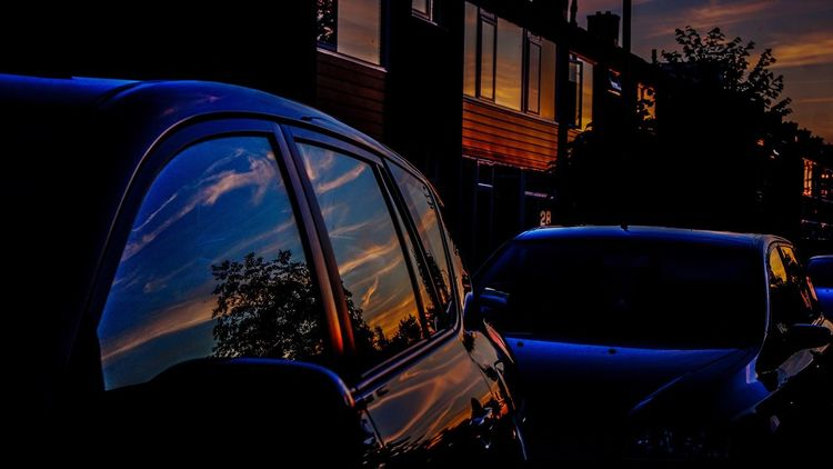 Car Outdoors Window No People Transportation Built Structure Day Architecture Building Exterior Sky EyeEm Selects Mix Yourself A Good Time