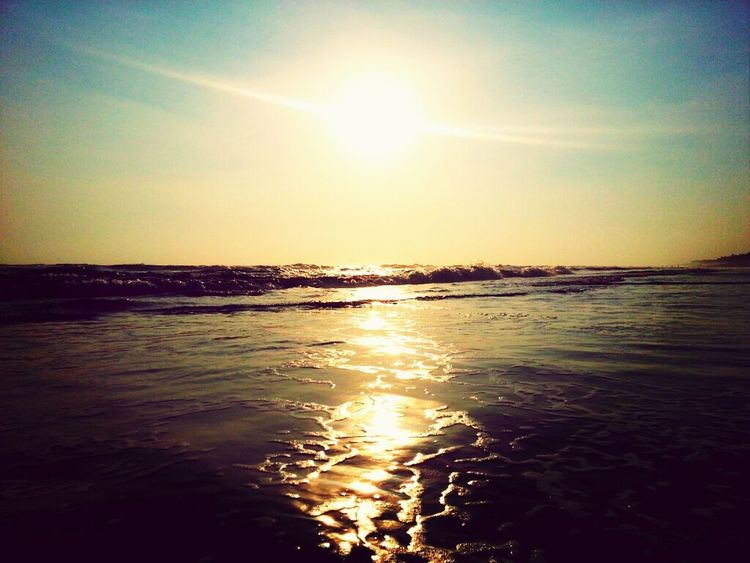 adrift. Beach Sunset Photography Waves