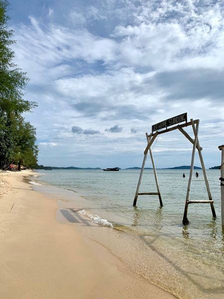 No People Sihanoukville Cambodia Otres Otres Beach Sihanouk Ville Province Beach Sea Beauty In Nature Land Scenics - Nature Nature Tree Sky Water Day Tranquility Tranquil Scene Sand Outdoors Non-urban Scene Horizon Over Water Horizon ASIA