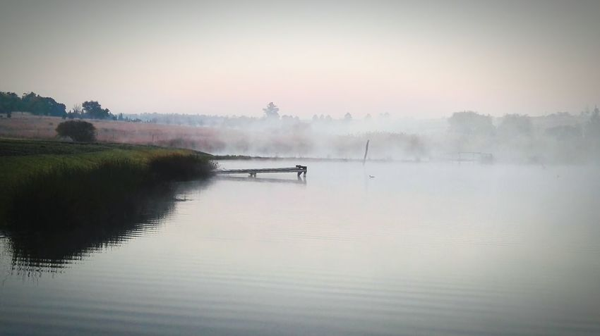 Mist Over The Water Jetty By Water Jetty Area Escaping Misty Day Winter Mist Winter Landscape Jetty View Misty Morning Winter Morning Wintertime Nature Diversities Winter EyeEm Nature Lover Naturelovers Nature Eyeem Collection