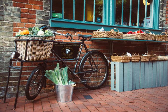Market place Cycle Market Basket Bicycle History Old Selling Vegetable Vintage Window