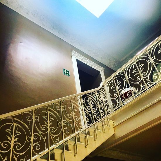 Stairs Staircase Stairways Breakfast Früstück Cdmx Mexico Old House Architecture Illumination Lights Light Light And Shadow