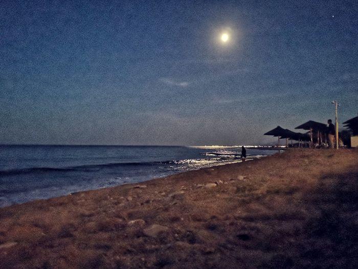 Astronomy Water Sea Moon Star - Space Astrology Sign Beach Sand Clear Sky Sky