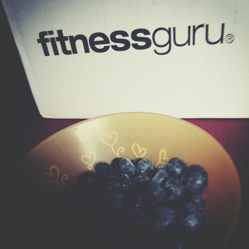 Training can begin :) Hello World Heidelbeeren Check This Out Fitness