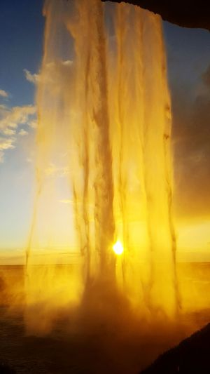 Done That. Sunset Water Nature Steam Beauty In Nature Hot Spring Waterfall Water Drops Iceland Iceland Memories Iceland_collection Icelandtrip Nature Nature_collection Naturelovers Landscape Been There. Lost In The Landscape
