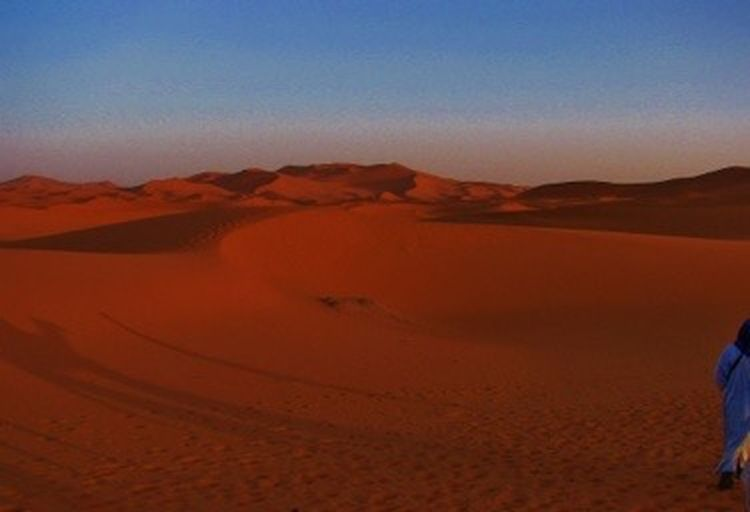 Sahara, mit untergehender Sonne 🌞🐪✨ Desert Landscape Scenics - Nature Land Environment Climate My Best Photo Tranquil Scene Sand Dune Tranquility Non-urban Scene Beauty In Nature Nature Clear Sky No People Physical Geography Barren Remote Sand Arid Climate Sky