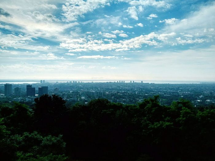 Mont Royal Scenic Lookout Montreal Panorama Montreal, Canada
