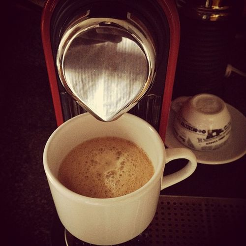 Fuel for the day #nespresso #coffee #startoftheday Nespresso Startoftheday Coffee