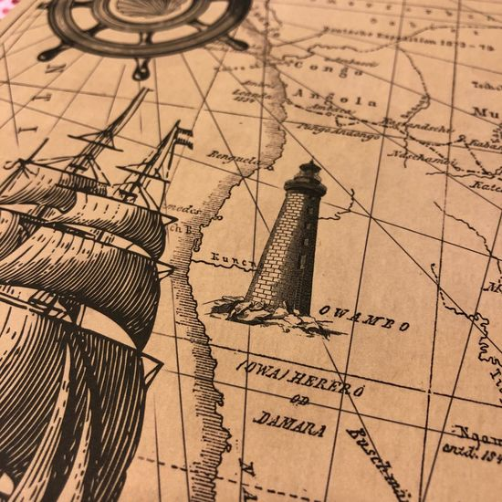 Basteln Mit Papier Basteln Antique Old-fashioned Old Paper Map Obsolete History