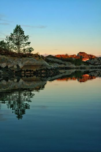 Early morning sun... Bømlo, Norway. Reflection Sea EyeEm Best Shots - Sunsets + Sunrise EyeEm Best Shots