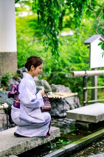The Great Outdoors - 2017 EyeEm Awards The Street Photographer - 2017 EyeEm Awards Kimono Young Women Lifestyles Beautiful People Street Photography Justgoshoot Japan Photography Kyoto Japan Canonphotography Canon