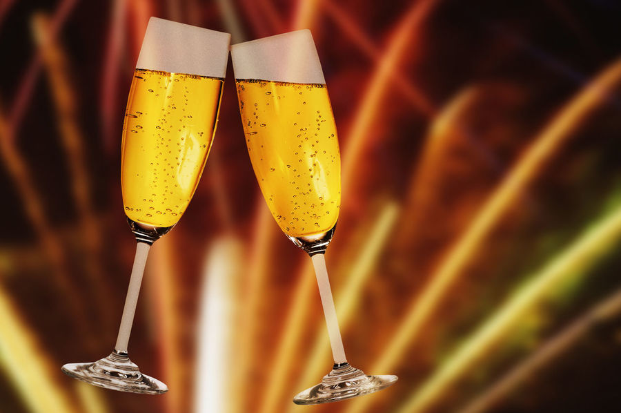 celebration with champagne and fireworks background CELEBRATION DAY Celebration Champagne Champagne France Champagne Lover Champagne Glasses Married New Year Alcohol Celebration Event Champagne Champagne Flute New Year 2018