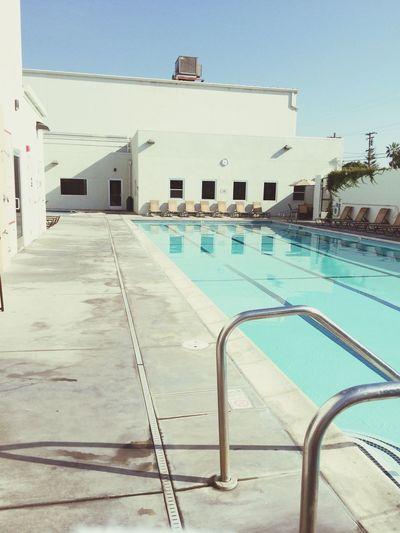 Gym Life Pool A good day to swim ! FAM ❤
