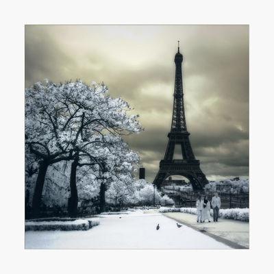 Canon400d Eifel Tower Eifelturm Fun Infrared Infrared Photography Landscape Paris Photoshop Tour Eiffel Travelling