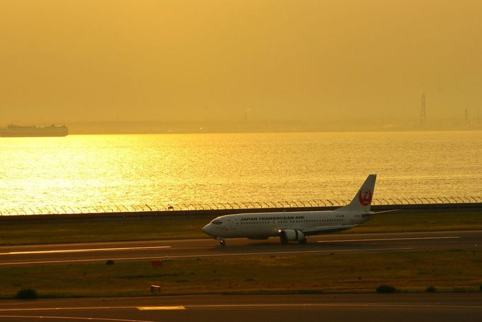 Sea And Sky Sunset Silhouette Taking Photos Airport Traveling Sun_collection EyeEm Nature Lover