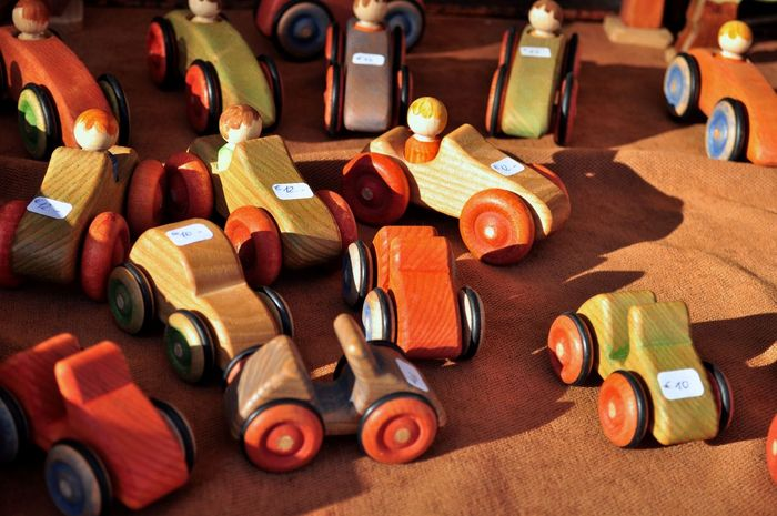 Abundance Arrangement Child Children's Toys Childrens Toys Choice Close-up Collection Day Group Of Objects Multi Colored Selective Focus Still Life Toy Car Toy Cars Wood Wooden Wooden Toy Wooden Toys