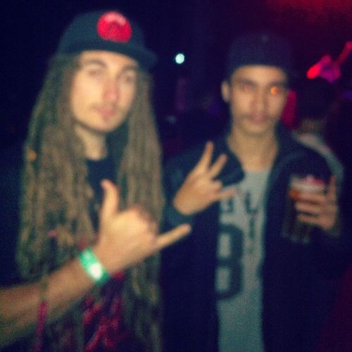 A bit blury but, dude had solid dreads 🍁