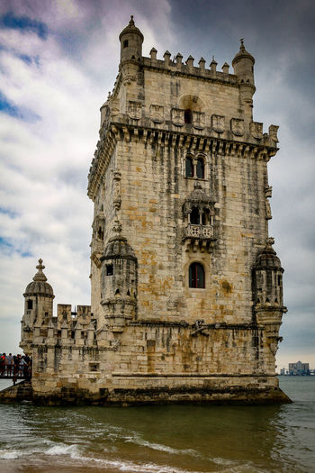 Belém Architecture Building Building Exterior Built Structure Cloud - Sky Day History Low Angle View Nature Outdoors Religion River Sky The Past Tourism Travel Travel Destinations Water Waterfront