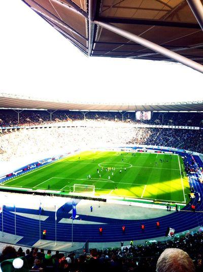 SV Werder Bremen at Olympiastadion SV Werder Bremen