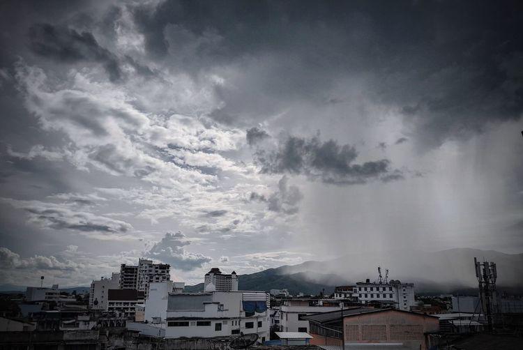 Rainy day City