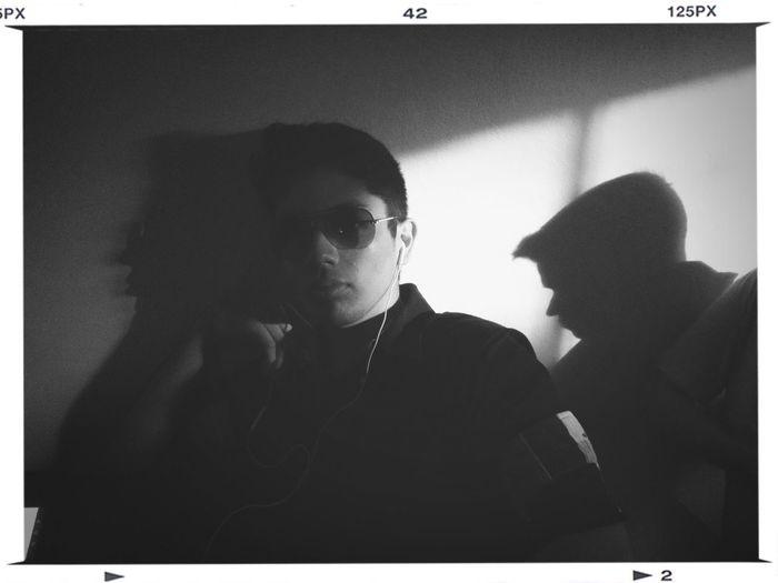 Portrait Shadow Blackandwhite Tampico
