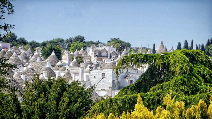 Trulli History Architecture Building Exterior Sky Built Structure In Bloom Old Ruin Archaeology Ancient