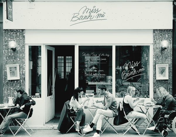 Bistro Black And White Lunchtime Tadaa Community Relaxing Outside Take A Walk Picoftheday Amazing View Trip Europe Restaurant Girl And Boy Architecture Building Frankreich Schaufenster Showroom Architecture Street Art