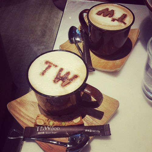 Couldn't fit the 'AT' on Coffee Teawoodcafe Instafood HongKong