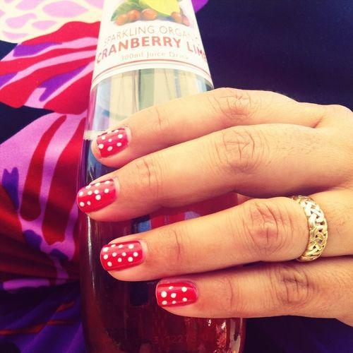 Festive party nails